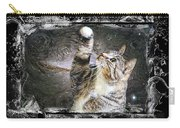 Starry Night Kitty Style Splash Carry-all Pouch