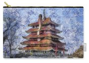 Starry Starry Pagoda Night Carry-all Pouch