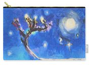 Starry Tree Carry-all Pouch by Pixel  Chimp