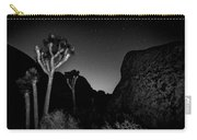 Stars Above Joshua Tree Carry-all Pouch