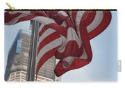 Stars And Stripes And 1 W T  C Carry-all Pouch