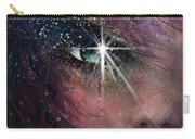 Stars In Her Eyes Carry-all Pouch by Rachel Christine Nowicki