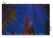 Stars Light Star Bright Fine Art Photography Prints And Inspirational Note Cards Carry-all Pouch