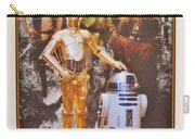 Stars Wars Autographed Movie Poster Carry-all Pouch