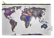 Stars World Map Carry-all Pouch