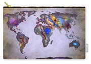 Stars World Map Space Carry-all Pouch