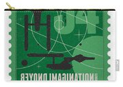 Starschips 34-poststamp - Uss Enterprise Carry-all Pouch by Chungkong Art