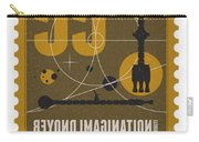 Starschips 55-poststamp -discovery One Carry-all Pouch by Chungkong Art
