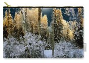 Starshine On A Snowy Wood Carry-all Pouch
