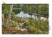 Starvation Lake Reflections Carry-all Pouch
