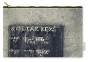 State Car Keys Carry-all Pouch