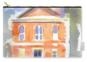 Stately Courthouse With Police Car Carry-all Pouch
