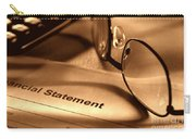Statement With Glasses Carry-all Pouch