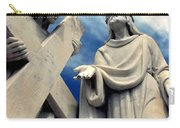 Station Of The Cross  Carry-all Pouch