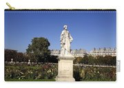Statue At The Jardin Des Tuileries In Paris France Carry-all Pouch