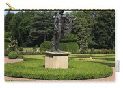 Statue In A Boxwood Garden Carry-all Pouch