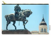 Statue In Montevideo Uruguay Carry-all Pouch