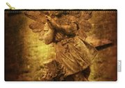 Statue Of Angel Carry-all Pouch by Amanda Elwell