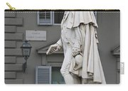 Statue Of Carlo Goldoni Carry-all Pouch