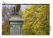 Statue Of Daniel Webster - Central Park Carry-all Pouch