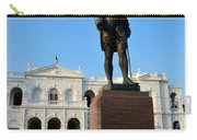 Statue Of Gregory Outside National Museum Colombo Sri Lanka Carry-all Pouch