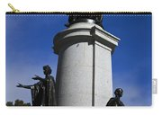 Statue Of King Edward Vii Carry-all Pouch