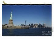 Statue Of Liberty And Manhattan Carry-all Pouch