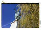 statue of liberty in Paris Carry-all Pouch