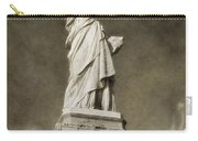 Statue Of Liberty Sepia Carry-all Pouch