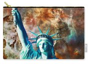 Statue Of Liberty - She Stands Carry-all Pouch