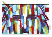 Statue Of Liberty With Colors Carry-all Pouch