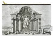 Statue Of Olympian Zeus Carry-all Pouch