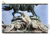 Statue Of Prince Eugene Of Savoy In Budapest Carry-all Pouch