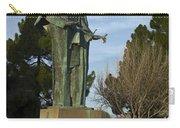 Statue Of Saint Clare Santa Clara Calfiornia Carry-all Pouch