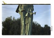 Statue Of Saint Clare Santa Clara California Carry-all Pouch