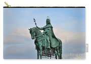 Statue Of St Stephen Hungary King Carry-all Pouch