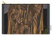 Statue Of The Holy Family  Carry-all Pouch