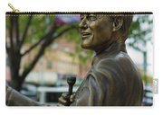 Statue Of Us President Bill Clinton Carry-all Pouch