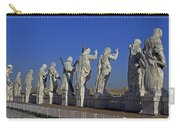Statues On Facade Of St Peters Carry-all Pouch