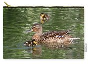 Staying Close To Mom Carry-all Pouch
