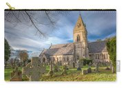 St.david At Pantasaph Carry-all Pouch by Adrian Evans
