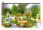 Ste Marie Du Lac In Watercolor IIb Carry-all Pouch