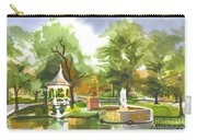Ste. Marie Du Lac In Watercolor Carry-all Pouch