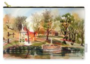 Ste. Marie Du Lac With Gazebo And Pond I Carry-all Pouch