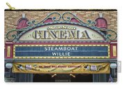 Steam Boat Willie Signage Main Street Disneyland 01 Carry-all Pouch