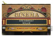 Steam Boat Willie Signage Main Street Disneyland 02 Carry-all Pouch
