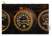 Steam Engine Gauge Carry-all Pouch