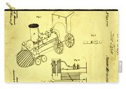 Steam Engine Patent 1869 Carry-all Pouch