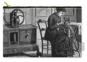 Steam-powered Sewing Machine Carry-all Pouch