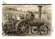Steam Powered Tractor Sepia Carry-all Pouch